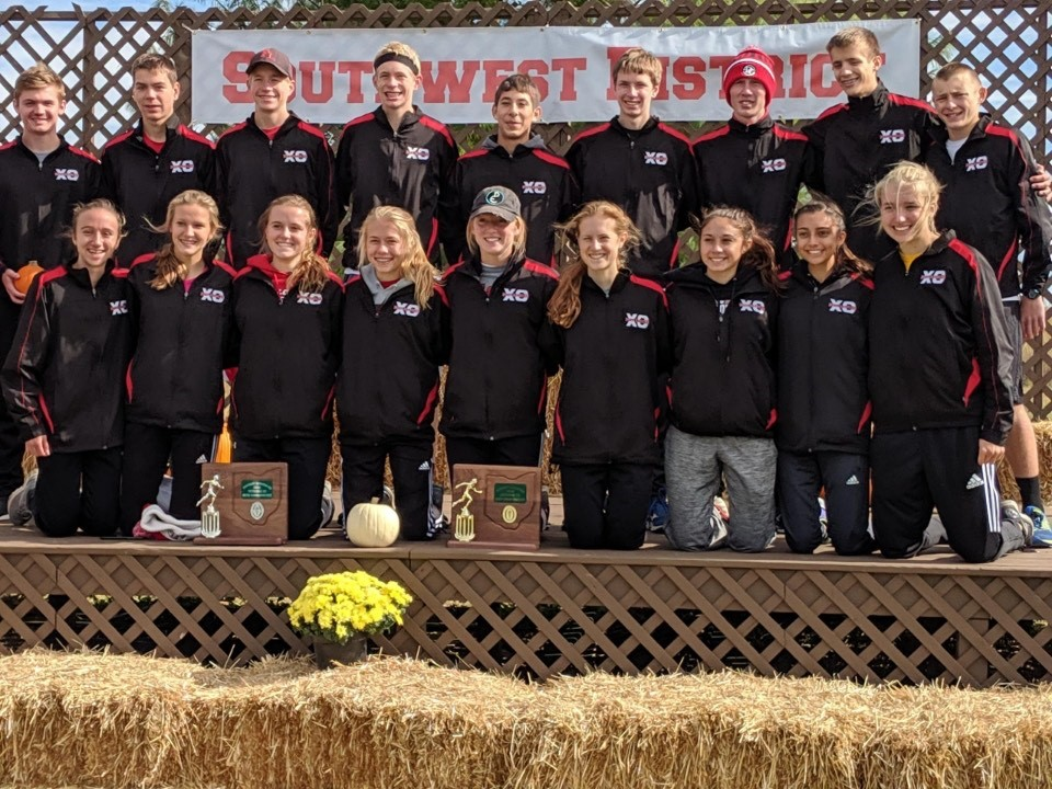 Girls XC District Champs – Boys Runner-Up