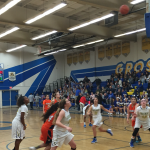 Valhalla High School Girls Varsity Basketball beat Grossmont High School 45-44
