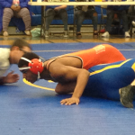 Valhalla High School Boys Varsity Wrestling falls to Grossmont High School 36-39