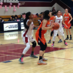 Valhalla High School Girls Varsity Basketball falls to Steele Canyon 35-43