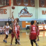 Valhalla High School Girls Varsity Basketball beat El Cajon Valley High School 40-37