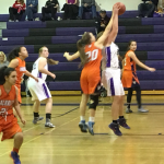Valhalla High School Girls Varsity Basketball beat Santana High School 53-52