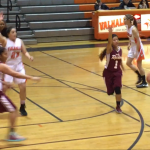 Valhalla High School Girls Varsity Basketball beat Southwest High School 42-33