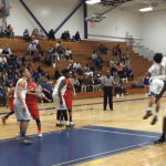 Valhalla High School Boys Varsity Basketball falls to Mira Mesa High School 57-63
