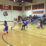 Valhalla High School Girls Varsity Basketball falls to Crawford High School 39-41