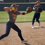 Valhalla High School Varsity Softball falls to Steele Canyon High School 2-5