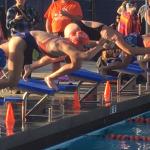 Valhalla High School Girls Varsity Swimming beat West Hills High School 103-83