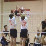 Valhalla High School Boys Varsity Volleyball falls to Granite Hills 3-0