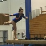 Valhalla High School Girls Junior Varsity Gymnastics finishes 2nd place
