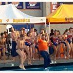 Valhalla High School Girls Varsity Swimming beat Granite Hills High School 124-63