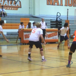 Valhalla High School Boys Varsity Volleyball falls to Helix High School 3-0