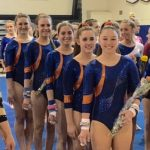 Valhalla High School Girls Varsity Gymnastics finishes 3rd place