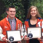 District Sportsmanship Award Winners