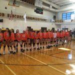 Valhalla High School Girls Varsity Volleyball beat Francis Parker High School 3-1
