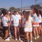 Valhalla High School Girls Varsity Tennis beat Serra High School 77-76