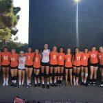 Valhalla High School Girls Freshman Volleyball beat Bonita Vista High School 2-0