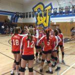 Valhalla High School Girls Junior Varsity Volleyball beat Bonita Vista High School 2-0