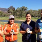 Valhalla High School Girls Varsity Golf beat Granite Hills High School 240-302