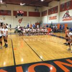Valhalla High School Girls Freshman Volleyball beat Grossmont High School 2-1