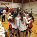 Valhalla High School Girls Junior Varsity Volleyball falls to Grossmont High School 2-0