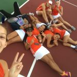 Valhalla High School Girls Varsity Tennis beat Calexico High School 12-6