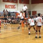 Valhalla High School Girls Junior Varsity Volleyball falls to Steele Canyon High School 2-0