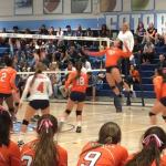 Valhalla High School Girls Varsity Volleyball beat Granite Hills 3-0