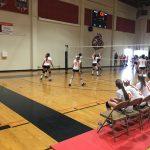 Valhalla High School Girls Freshman Volleyball beat West Hills High School 2-1