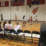 Valhalla High School Girls Junior Varsity Volleyball beat West Hills High School 2-1