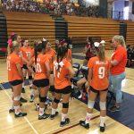 Valhalla High School Girls Freshman Volleyball beat Steele Canyon High School 2-1