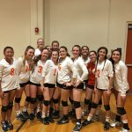 Valhalla High School Girls Junior Varsity Volleyball beat Granite Hills 2-0