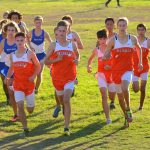 Valhalla High School Boys Varsity Cross Country beat West Hills High School 27-29