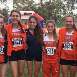 Valhalla High School Girls Varsity Cross Country finishes 9th place