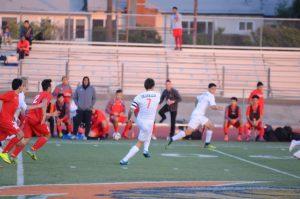 12/8/16 Varsity Boys Soccer vs El Cajon Valley