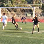 Valhalla High School Girls Varsity Soccer ties Coronado High School 1-1