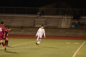 Boys JV Soccer v Monte Vista 1-18-17