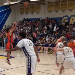Valhalla High School Boys Varsity Basketball falls to Grossmont High School 55-46