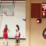 Valhalla High School Girls Varsity Basketball beat El Cajon Valley High School 43-41