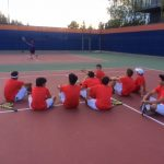 Valhalla High School Boys Varsity Tennis falls to Santana High School 15-3