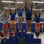 Valhalla High School Girls Varsity Gymnastics finishes 1st place