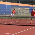 Valhalla High School Boys Varsity Tennis falls to Patrick Henry High School 12-6
