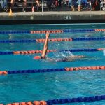 Valhalla High School Girls Junior Varsity Swimming beat Grossmont High School 100-67