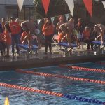 Valhalla High School Boys Varsity Swimming beat Grossmont High School 126-60