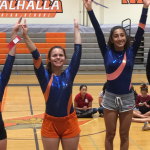 Valhalla High School Girls Junior Varsity Gymnastics finishes 1st place