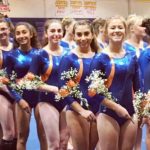 Valhalla High School Girls Varsity Gymnastics finishes 2nd place