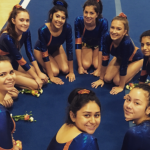 Valhalla High School Girls Junior Varsity Gymnastics finishes 2nd place