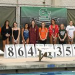 Valhalla High School Girls Varsity Swimming finishes 4th place