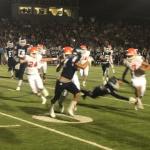 Valhalla HS Varsity Football falls to Granite Hills 34-17