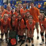 Valhalla High School Girls Junior Varsity Volleyball beat Grossmont High School 2-0