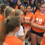 Valhalla High School Girls Freshman Volleyball falls to Grossmont High School 2-1